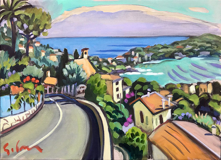 Road above Villefranche