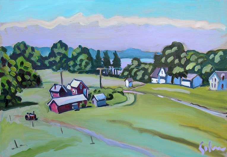Farm at Port Oneida