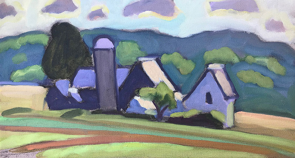 Small Dechow Barns, Sept.