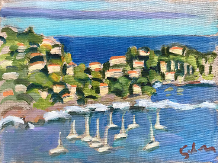Color Sketch, Villefranche