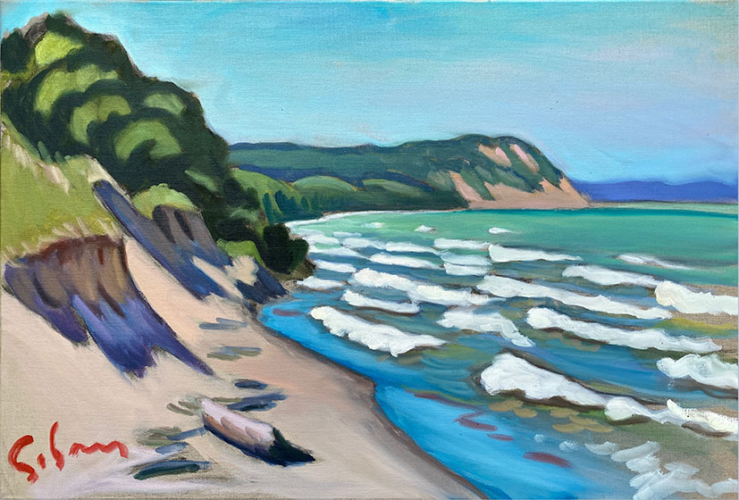 View of Empire Bluffs