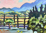 Color Study, The Luberon