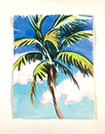 Palm Watercolor 2